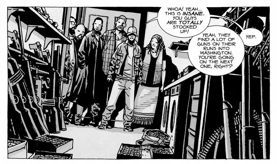 The Walking Dead képregény 13. kötet 01. kép